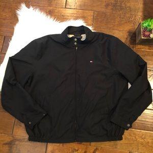 Tommy Hilfiger Men's Jacket Black Size 2XL